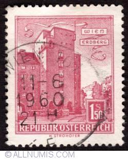 Image #1 of 1.50 S Vienna - Erdberg 1958