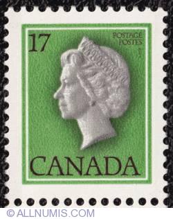 Imaginea #1 a 17¢ - Regina Elisabeta a II-a