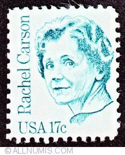 Image #1 of 17¢ Rachel Carson 1981