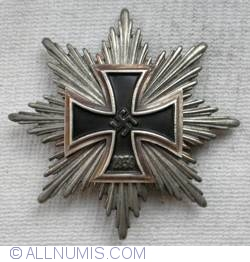 1939 Star of the Grand Cross of the Iron Cross in silver