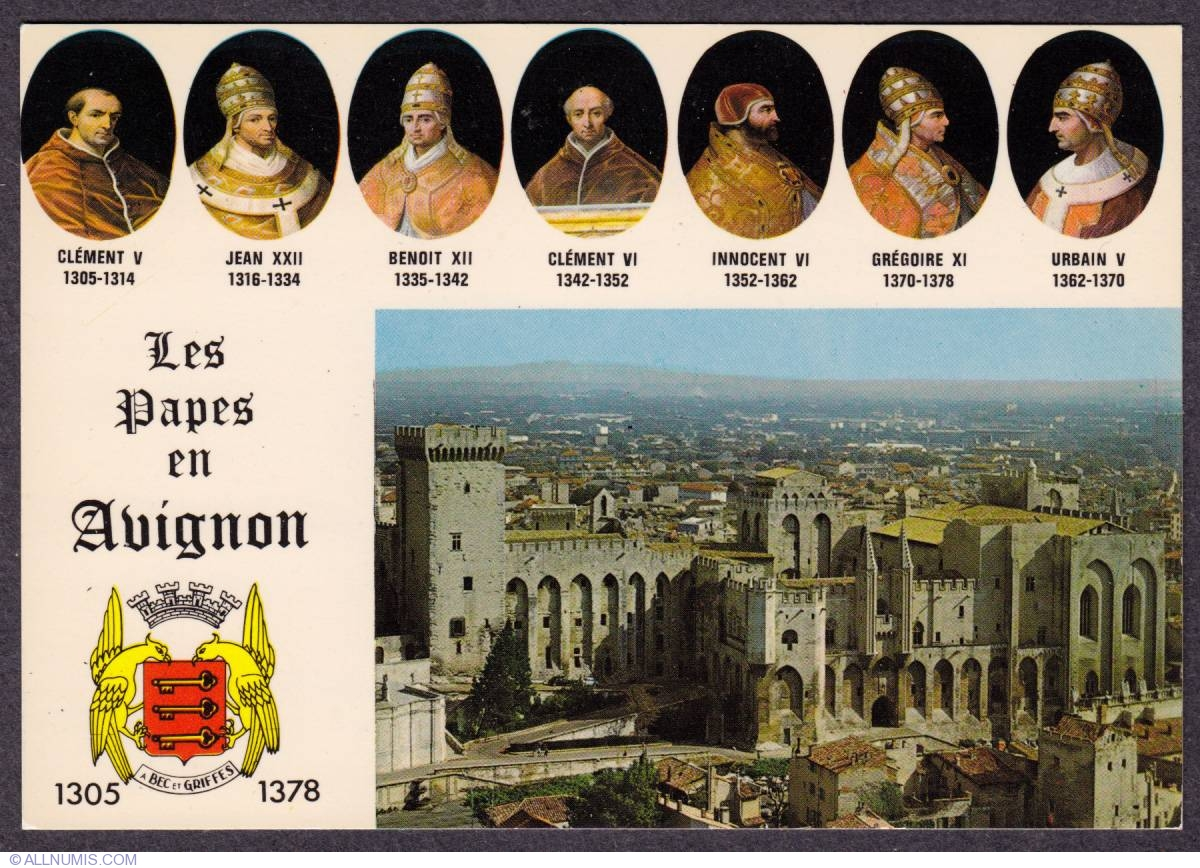avignon papacy But the topic which most concerned her was the return of the papacy from  avignon, france, where popes had lived since 1309 catherine took.