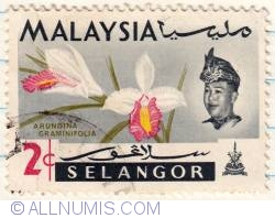 Image #1 of 2¢ 1965 - 4th World Orchids Conference-Selangor