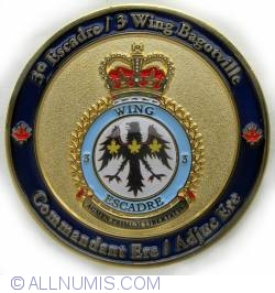 Image #2 of 2 and 3 Wing Commanding staff