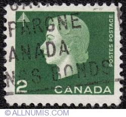 Imaginea #1 a 2¢ Elizabeth II 1963