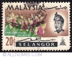 Image #1 of 20¢ 1965 - 4th World Orchids Conference-Selangor