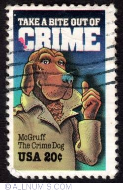 20¢ 1984 - McGruff The Crime Dog