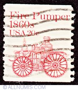 Image #1 of 20¢ Fire pumper 1981