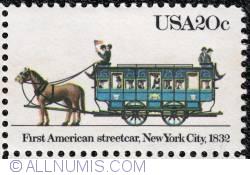 Image #1 of 20¢ First American Streetcar 1983