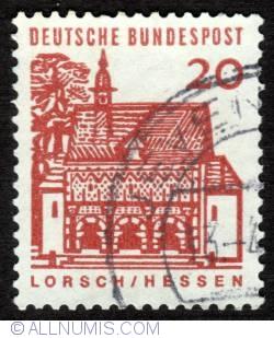 Image #1 of 20 Pfennig Lorsch-Hessen 1965