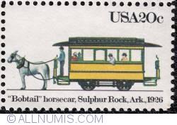 Image #1 of 20¢  Bobtail  horsecar 1983
