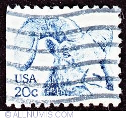 Image #1 of 20¢ Rocky Mountain bighorn 1982