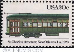 Image #1 of 20¢ St. Charles streetcar 1983