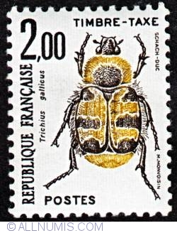2,00 Fr Trichius gallicus 1982