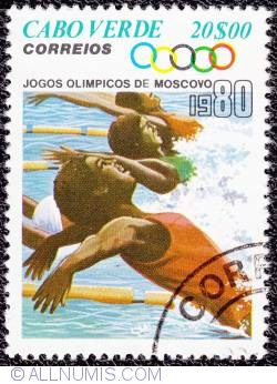 Image #1 of 20$00 Moscow Olympics-Swimming 1980