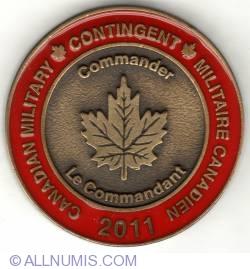 Image #2 of 2011 Nijmegen Commander's coin