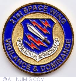 Imaginea #1 a 21 Space Wing Command Chief Master Sergeant