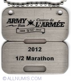 Image #1 of Army Run ½ Marathon 2012