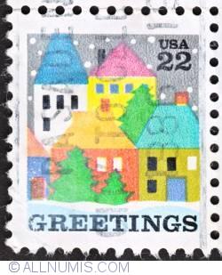Image #1 of 22¢ 1986 - Christmas