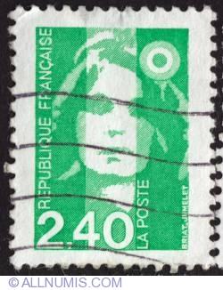 Imaginea #1 a 2,40 Fr Marianne de Briat or Bicentennial Marianne 1993