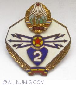 Romanian Communication Specialist Grade Badges 2nd class