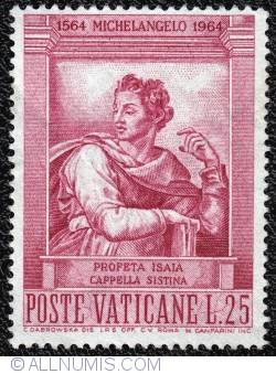 Image #1 of 25 Lira Michelangelo 400th anniversary 1964