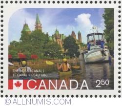 $2.50 2014 - Rideau Canal