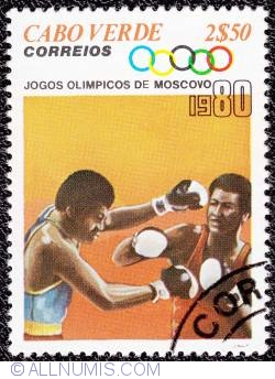 Image #1 of 2$50 Moscow Olympics-Boxing 1980