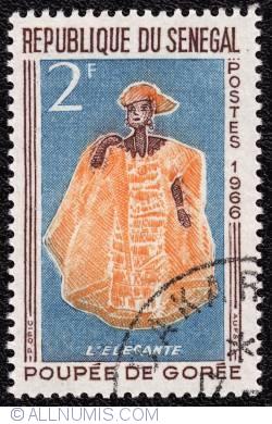 Image #1 of 2F 1996 - L Elégante-Poupée de Gorée
