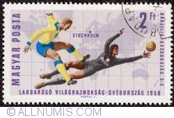 Imaginea #1 a 2ft 1958 Sweden FIFA World Cup 1966