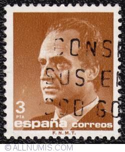 Image #1 of 3 ptas King Juan Carlos I 1986