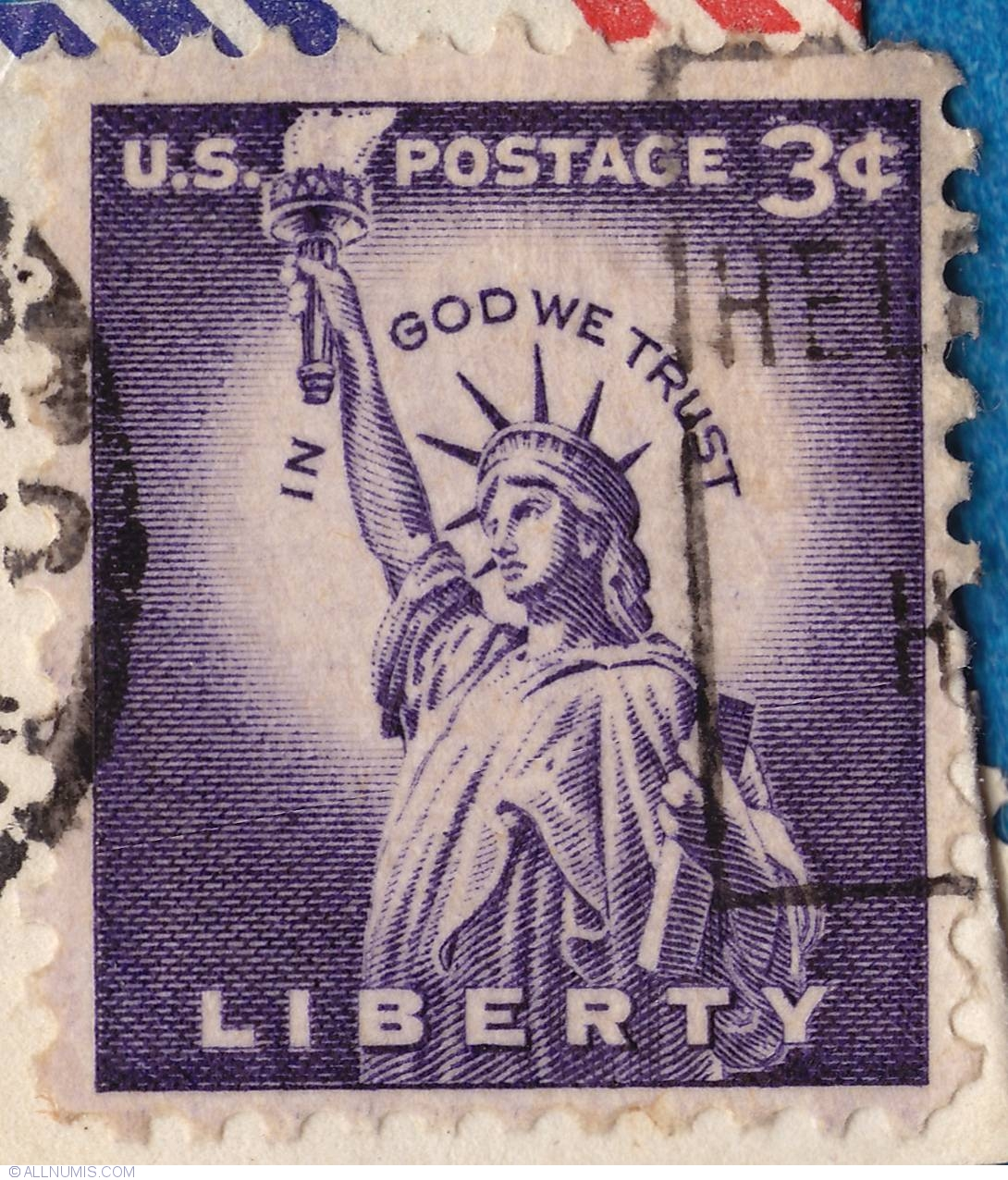 3 Statue Of Liberty 1954