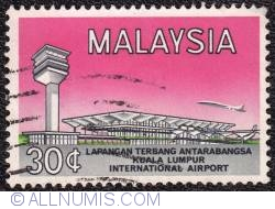 Image #1 of 30¢ Kuala Limpur int. airport 1965