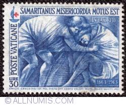 Image #1 of 30 lire Samaritanus Misericordia Motus Est-Red cross 1964