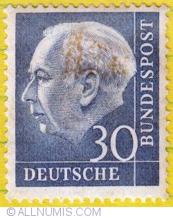 Image #1 of 30 President Theodor Heuss 1954