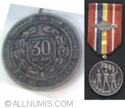 30 de ani de la eliberarea romaniei de sub dominatia fascista