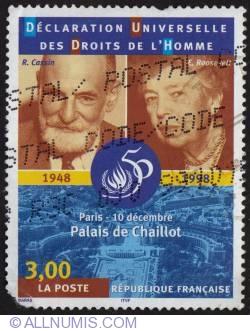 Image #1 of 3,00 Fr Déclaration des Droits de l Homme  1998