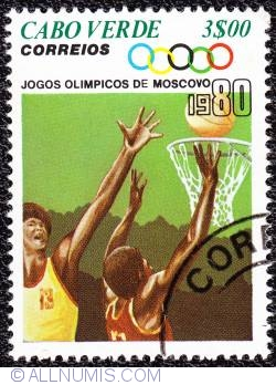 Image #1 of 3$00 Moscow Olympics- Basquetball 1980