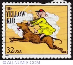 32¢ The Yellow kid 1995