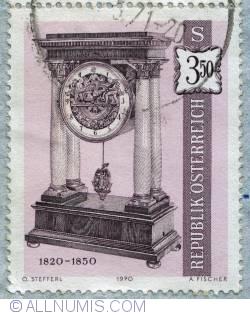 Imaginea #1 a 3,50s 1820-1850 clock 1970