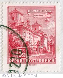 Image #1 of 3,50s Esterházy Castle, Eisenstadt 1957