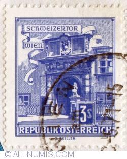 Image #1 of 3s Schweizertor (Swiss Gate), Vienna 1957