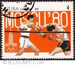 Image #1 of 4¢ 1980 Moscow Olympics 1979
