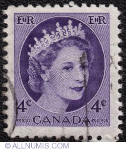 4¢ Elizabeth II 1954
