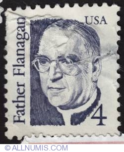 Image #1 of 4¢ Father Edward J. Flanagan 1986