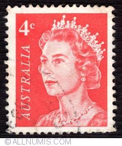 Image #1 of 4 Cent - Queen Elizabeth II