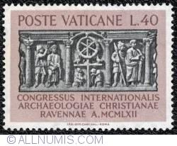 Image #1 of 40 lire International Congress of Christian Archaeology 1962
