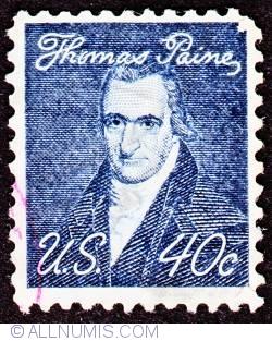 Image #1 of 40¢ Thomas Paine 1968