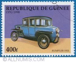 Image #1 of 400f  1998 - Rumpler Tropfenwagen 1921
