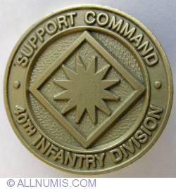 Imaginea #2 a 40th Infantry Division Support Command (DISCOM)