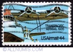 Image #1 of 44¢ 1985 - Martin M-130 China Clipper